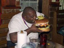 Jim (prima stagione) esploso in un Burger King.